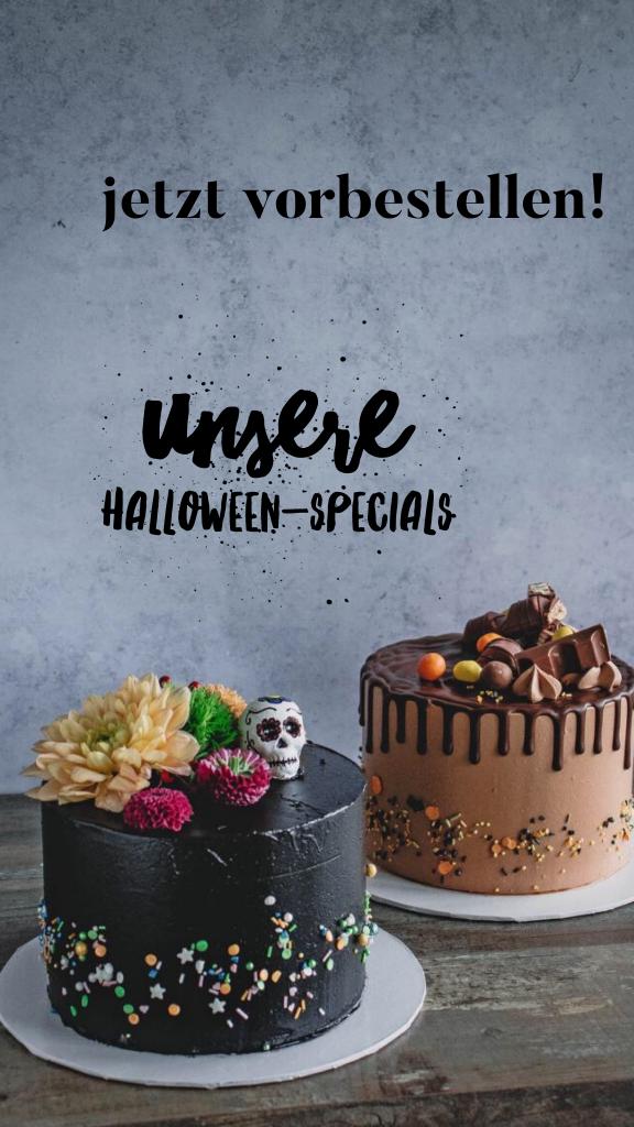 Halloween-Special Tortenauswahl